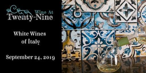 White Wines of Italy