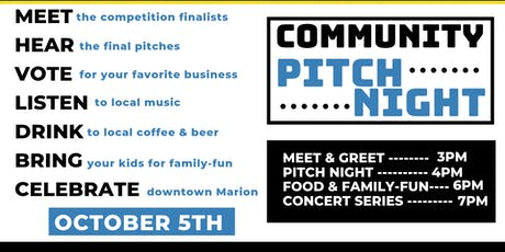 Community Pitch Night tickets