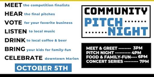 Community Pitch Night
