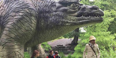 Guided tour of  Dino Island at the Crystal Palace