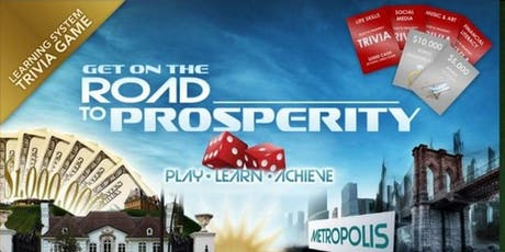 Road To Prosperity - GAME NIGHT! tickets