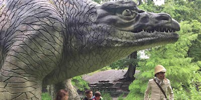 Guided tour of Dino Island at the Crystal Palace D