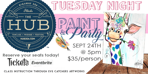 Paint Party at the HUB30A