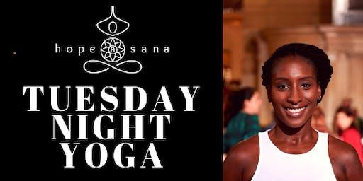 Tuesday Night Beginners Yoga with Hope Asana