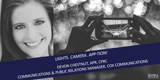 September Luncheon: Lights. Camera. App-tion!