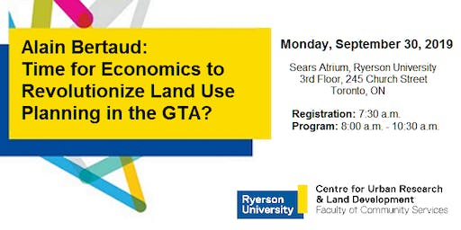 Time for Economics to Revolutionize Land Use Planning in the GTA?