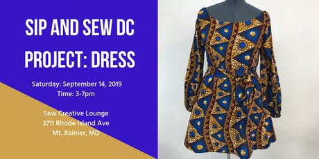 Sip and Sew DC tickets