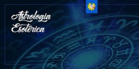 Curso Astrologia Esotérica ingressos