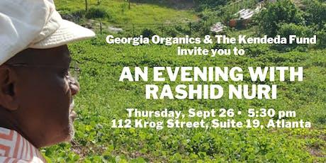 An Evening with Rashid Nuri tickets