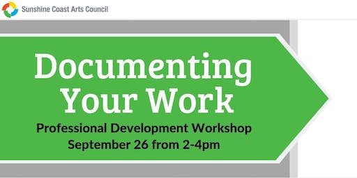 Professional Development Workshop: Documenting Your Work