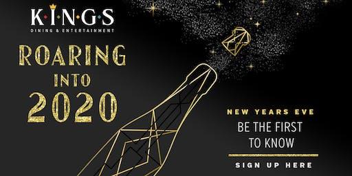 Roaring into 2020 at Kings Rosemont!