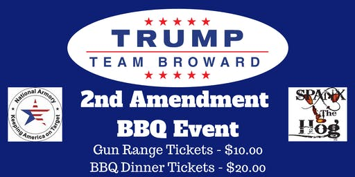 Trump Team Broward - 2nd Amendment BBQ Event