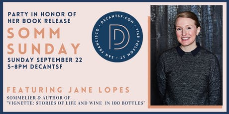 #SOMMSUNDAYS with Jane Lopes, Wine Director of Attica & author of Vignette! tickets