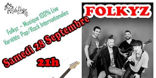 Soirée Pop Rock avec FOLKYZ