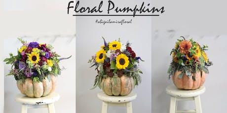 October Workshop: Floral Pumpkins tickets