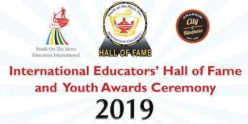 2019 International Educators' Hall of Fame Ceremony