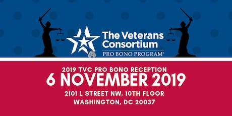 2019 TVC Pro Bono Mission Partner Reception tickets
