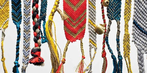 Adult Craft Camp:  DIY Modern Friendship Bracelets at Flytrap Brewing