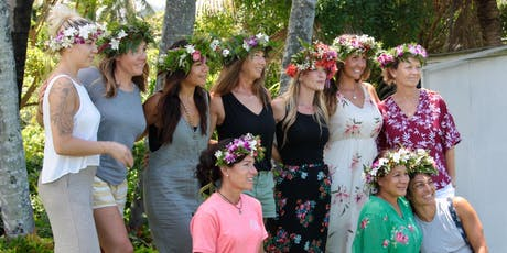 Flower Crown (Haku Lei) Workshop & Lunch tickets