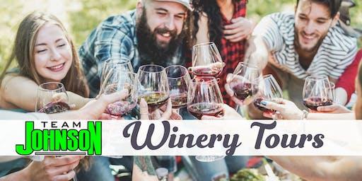 Team Johnson's Wine Tour