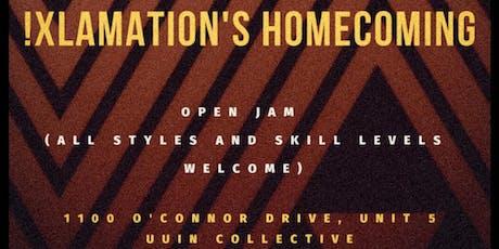 !Xlamation's Homecoming tickets