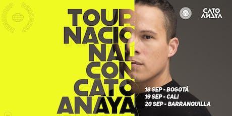 Tour Nacional con Cato Anaya - Bogotá entradas