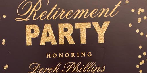 Derek Phillips Retirement Fundraising Party