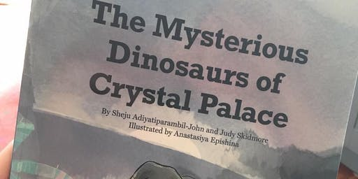 Storytime in the Park at the Crystal Palace Dinosaurs