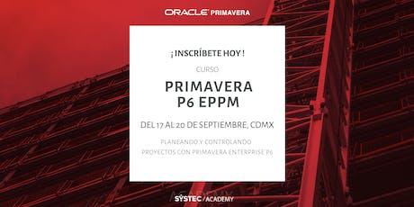 Primavera P6 Enterprise Project Portfolio Mgmt. entradas