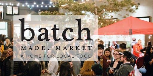BatchMade Market at Forage Kitchen: Friday, December 6th