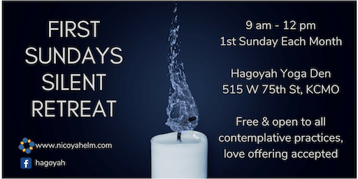 First Sundays Silent Retreat - October 2019
