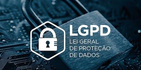 LGPD para Pequenas e Médias Empresas bilhetes