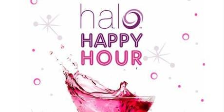 Halo Happy Hour tickets