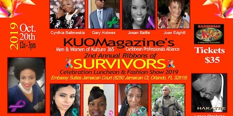 2nd Annual Ribbons of Survivors Luncheon 2019 tickets