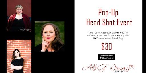 Pop-Up Head Shot Event