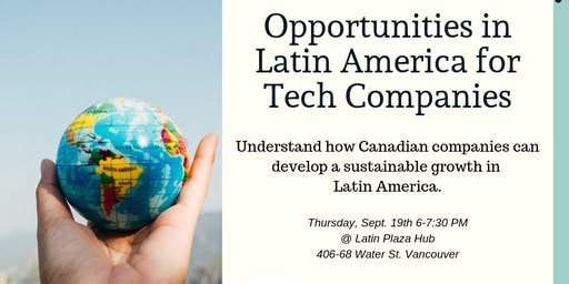 Opportunities in Latin America for Tech Companies - Start-up week