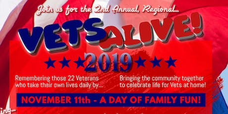 Vets Alive! 2019 / Celebrating Vets returning to life back at home. tickets