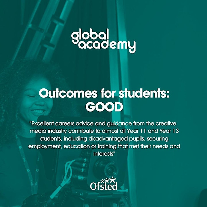 Global Academy Open Event   Wednesday October 2nd   5pm - 7pm image