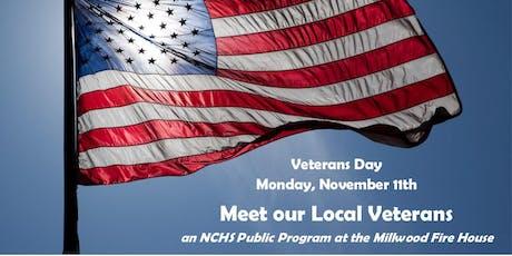 Meet our Local Veterans tickets