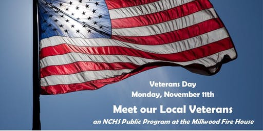 Meet our Local Veterans