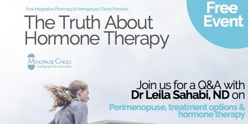 The Truth about Hormone Therapy with Dr. Leila Sahabi