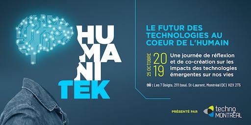 Le Futur des technologies au coeur de l'humain // The Future of human-centered technologies