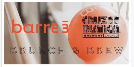 barre3 + brunch + brew at CRUZ BLANCA! tickets