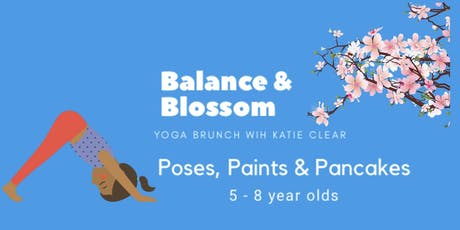 Poses, Paints and Pancakes tickets