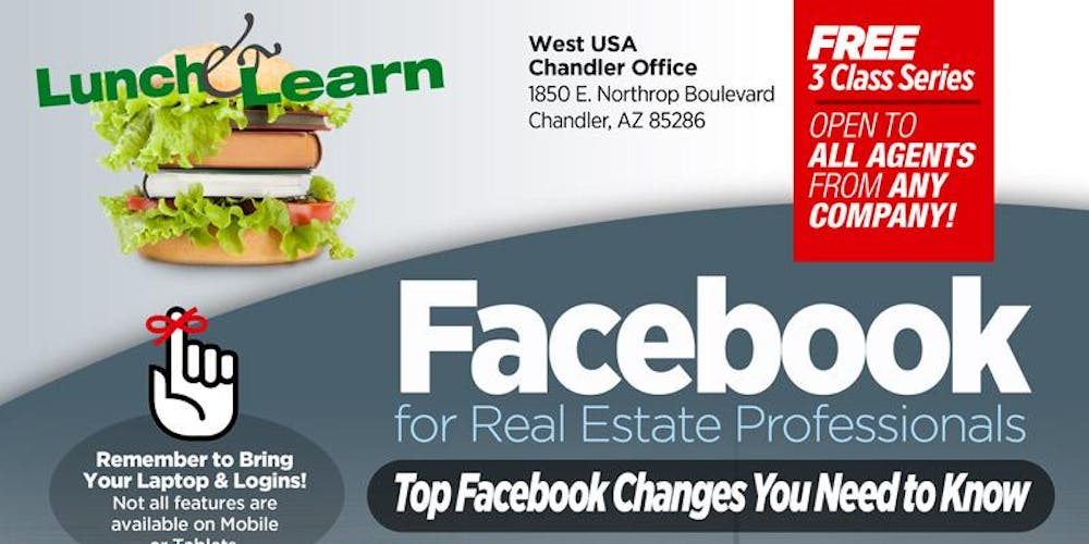 Facebook for Real Estate Professionals 3 Class Series - Sept