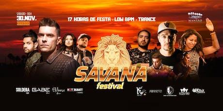 Savana Festival ingressos