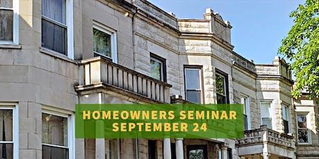 Homeowners Seminar tickets