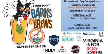 Barks & Brews: Featuring Ultimate Air Dog Competitions tickets