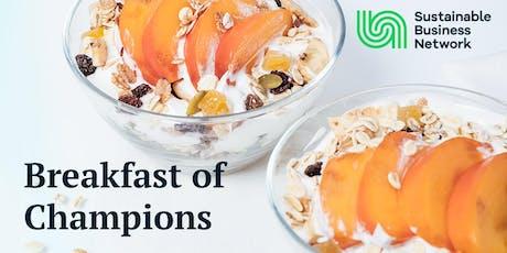 Breakfast of Champions  - Wellington tickets