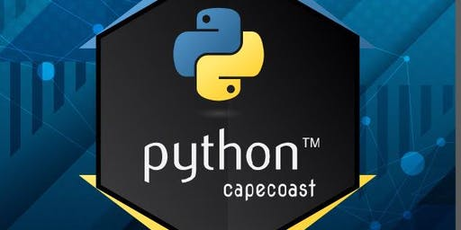 PYTHON CAPE COAST COMMUNITY MEETUP '19